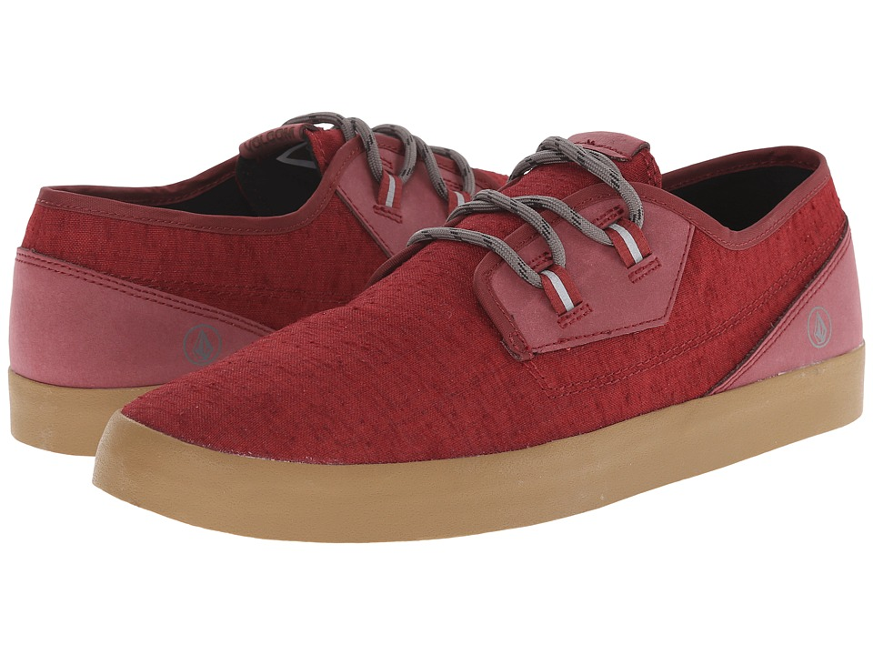 Volcom - Delphi (Blood Red) Men's Lace up casual Shoes