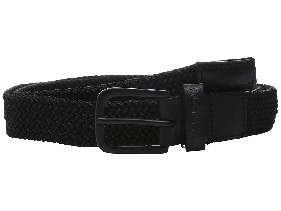 Billabong - Trails Belt (Black) Men's Belts