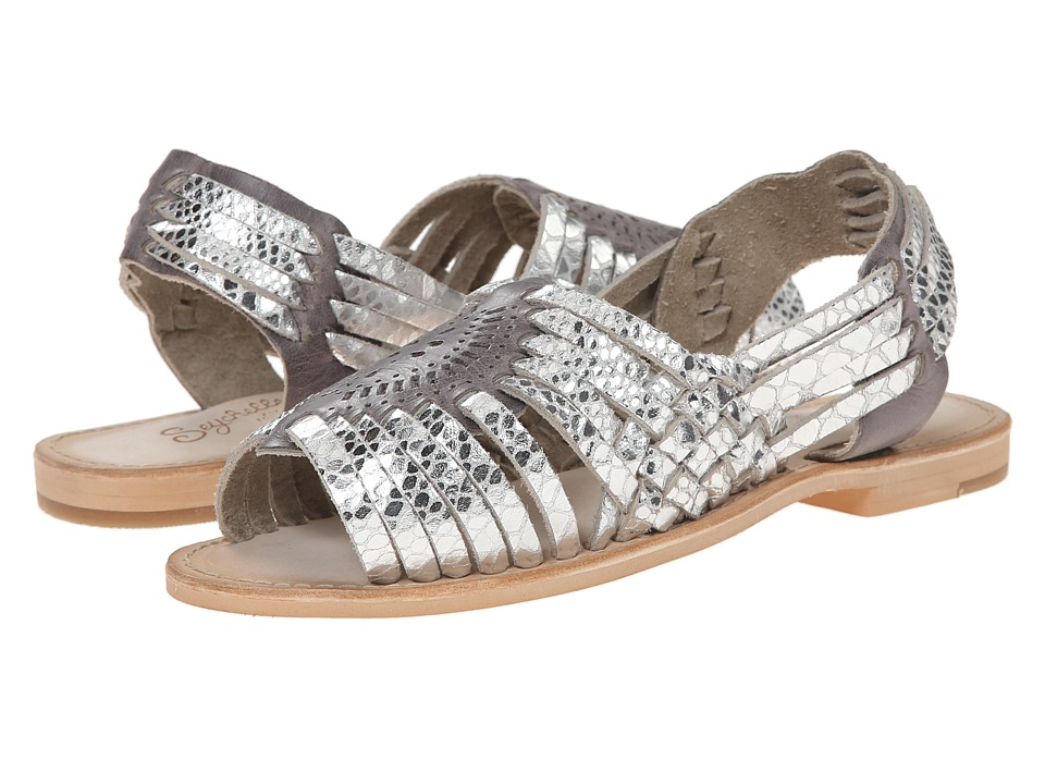 Seychelles - Square (Silver) Women's Dress Sandals