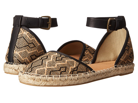 Seychelles - Circle (Natural/Black Woven) Women's Flat Shoes
