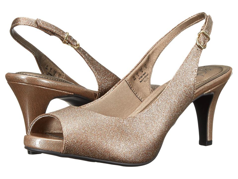 LifeStride - Teller (Champagne Twinkstar/Issa) High Heels
