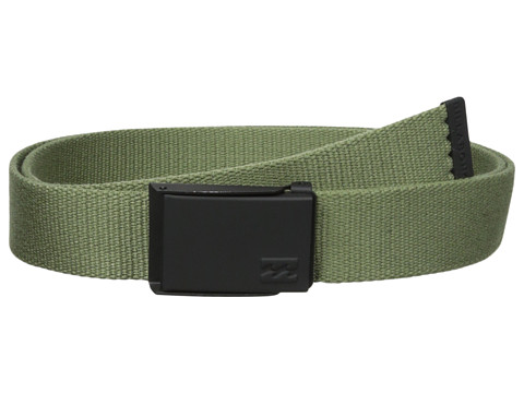 Billabong - Cog Belt (Canteen Green) Men's Belts