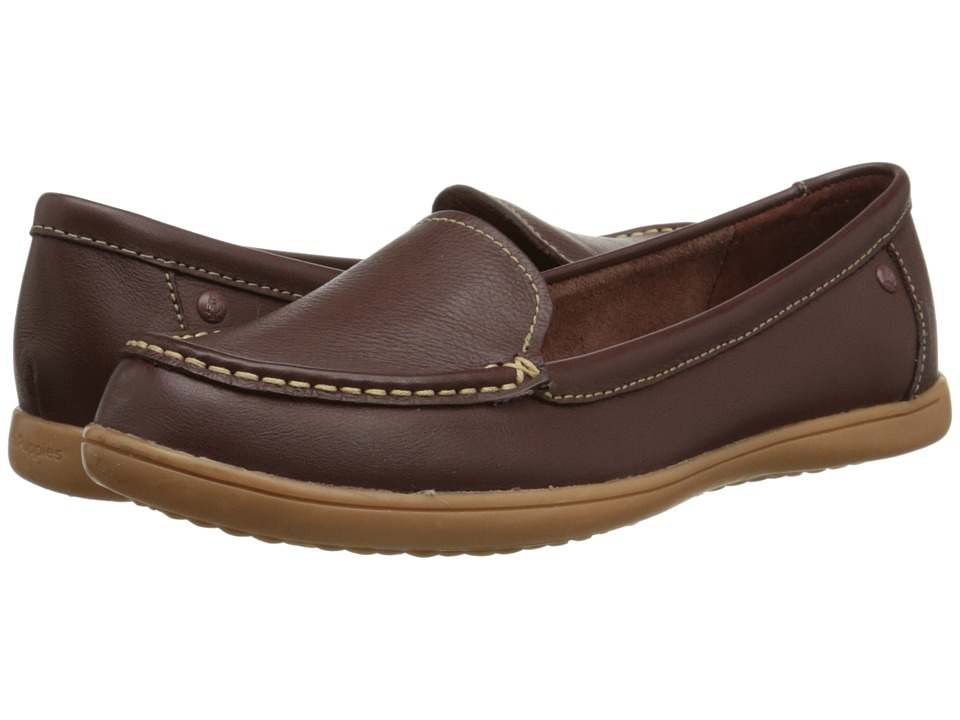 Hush Puppies - Ryann Claudine (Chocolate Leather) Women