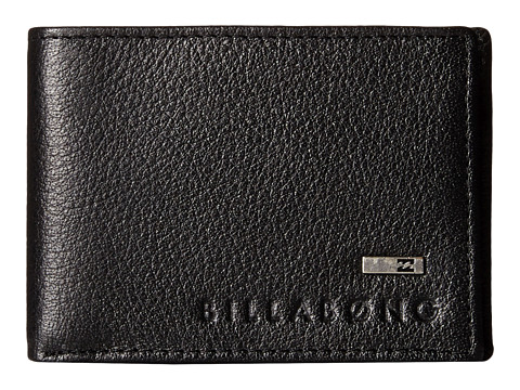 Billabong - Exchange Slim Bi-Fold (Black) Bi-fold Wallet