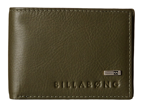 Billabong - Exchange Slim Bi-Fold (Military) Bi-fold Wallet