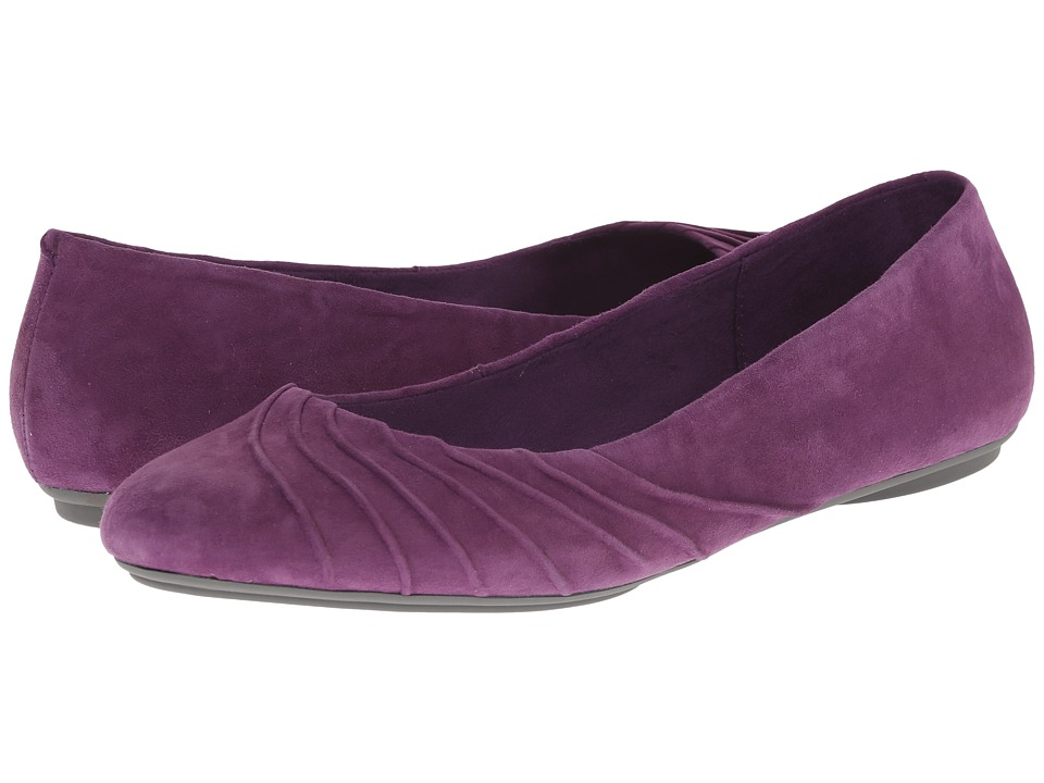 Hush Puppies - Zella Chaste (Plum Suede) Women