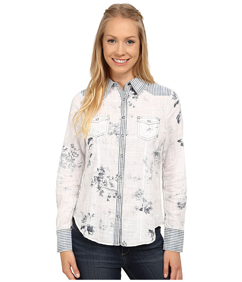 Aventura Clothing - Layla Long Sleeve Shirt (Flintstone) Women