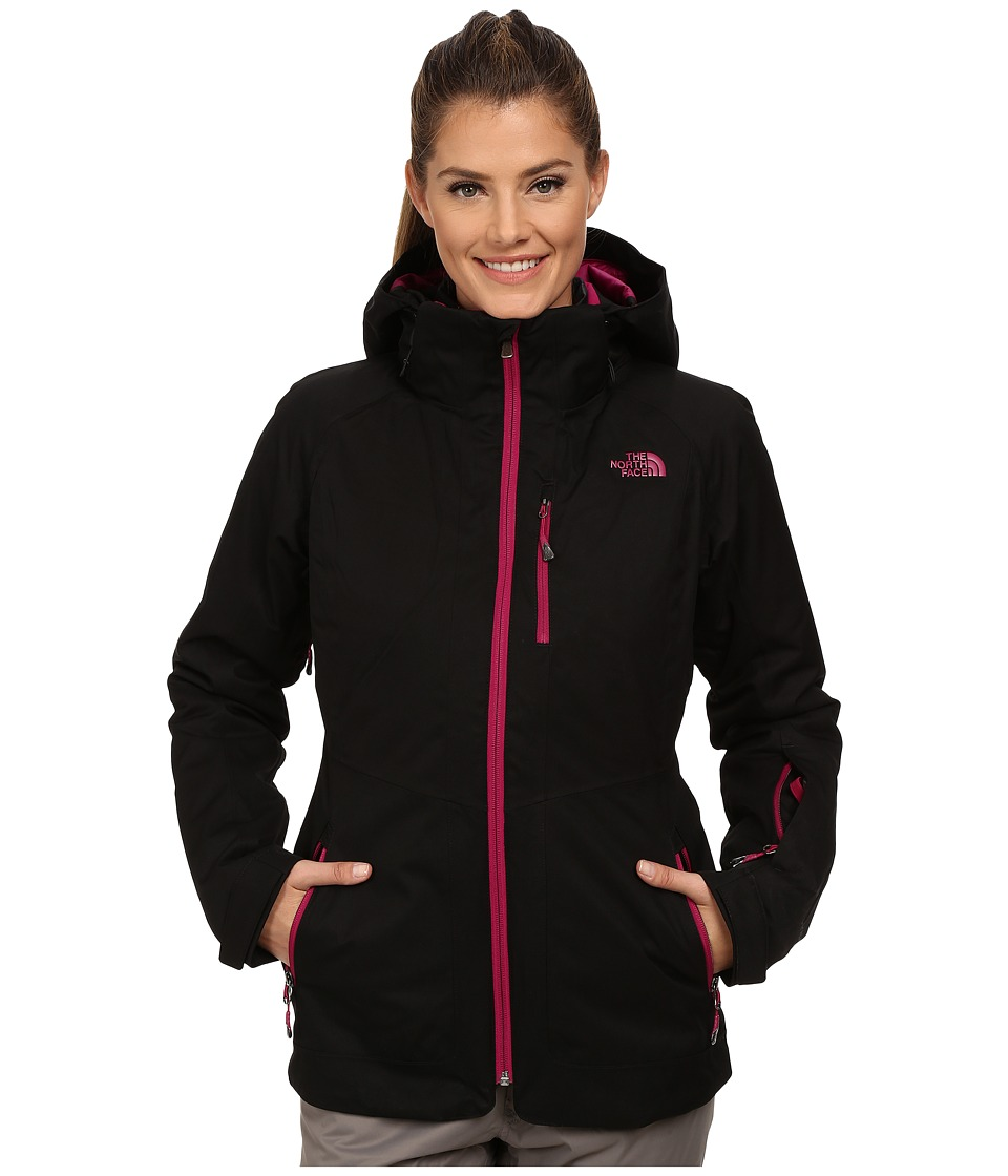 The North Face - ThermoBall Snow Triclimate Parka (TNF Black) Women's Coat