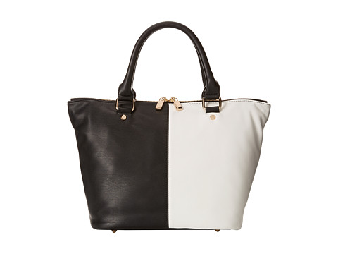 Deux Lux - Mod Satchel (Black/White) Satchel Handbags