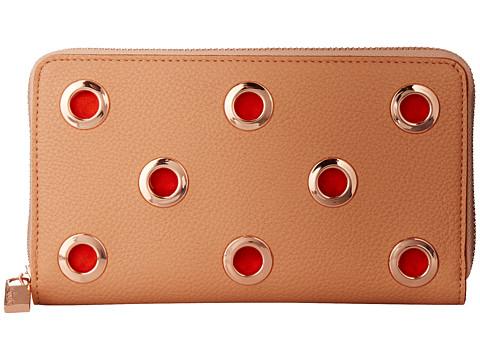 Deux Lux - Jackson Wallet (Peach) Wallet Handbags