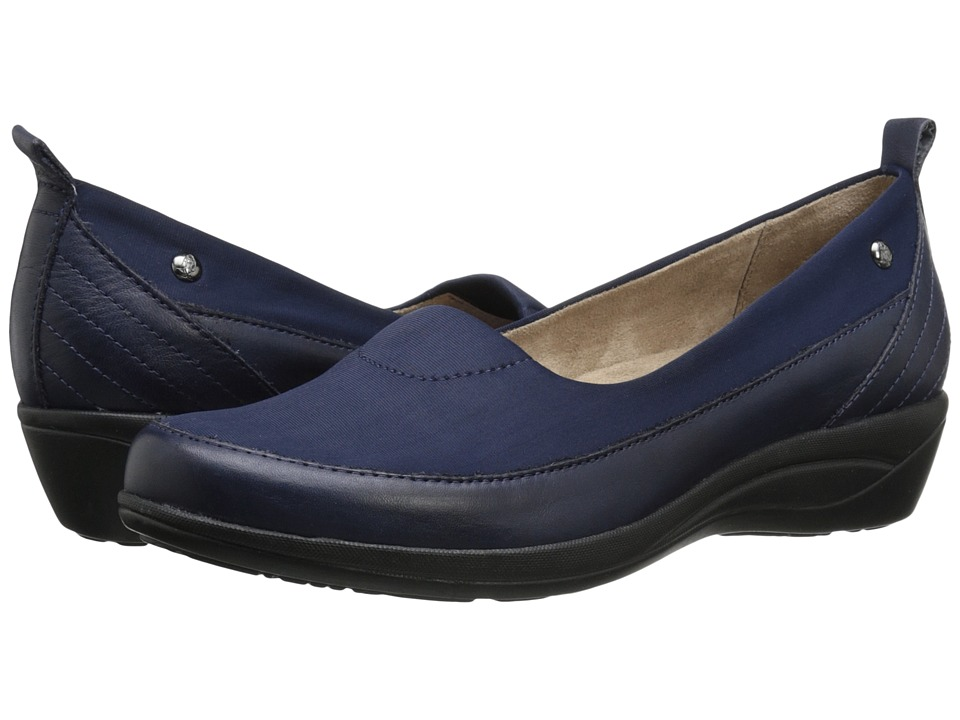 Hush Puppies - Valoia Oleena (Navy Leather) Women