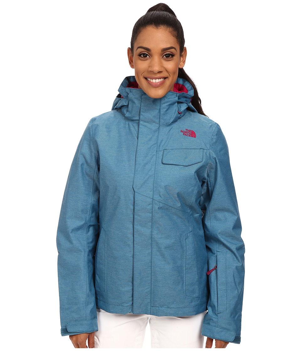 The North Face - Helata Triclimate Jacket (Juniper Teal) Women's Jacket
