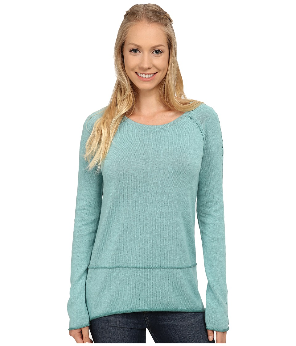 Aventura Clothing - Kenton Sweater (Aqua Sea/North Sea) Women