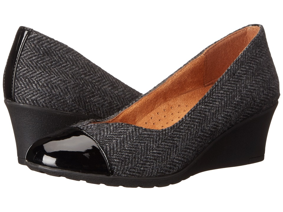 Hush Puppies - Fleur Rowley (Dark Grey) Women