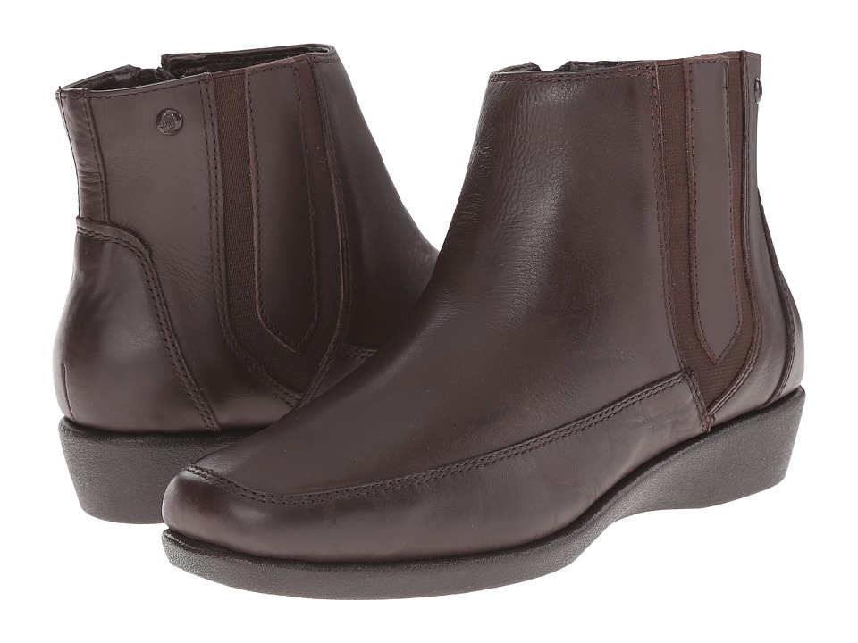 Hush Puppies - Sharla Carlisle (Dark Brown Leather) Women
