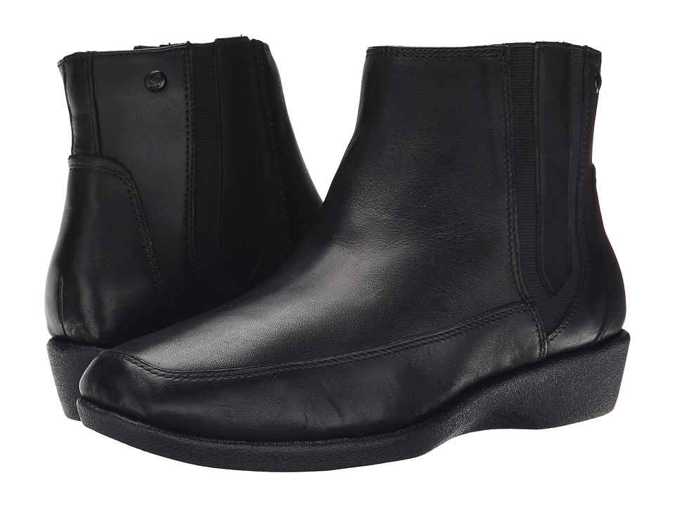 Hush Puppies - Sharla Carlisle (Black Leather) Women