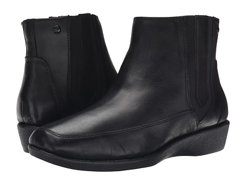 Hush Puppies - Sharla Carlisle (Black Leather) Women's Boots