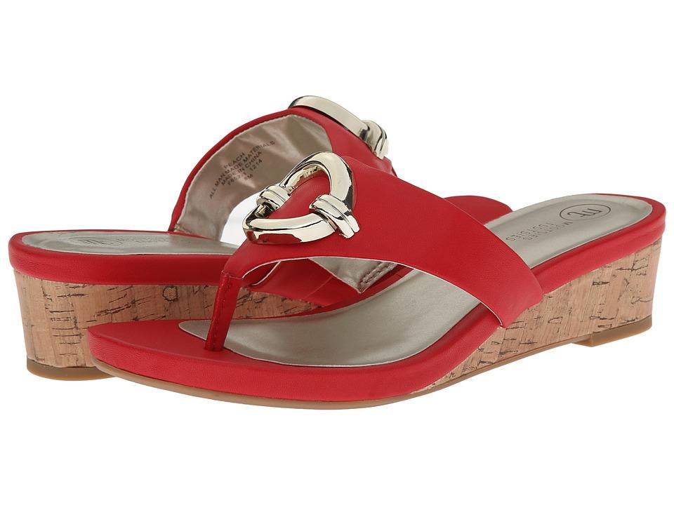 Mootsies Tootsies - Peach (Red) Women's Sandals