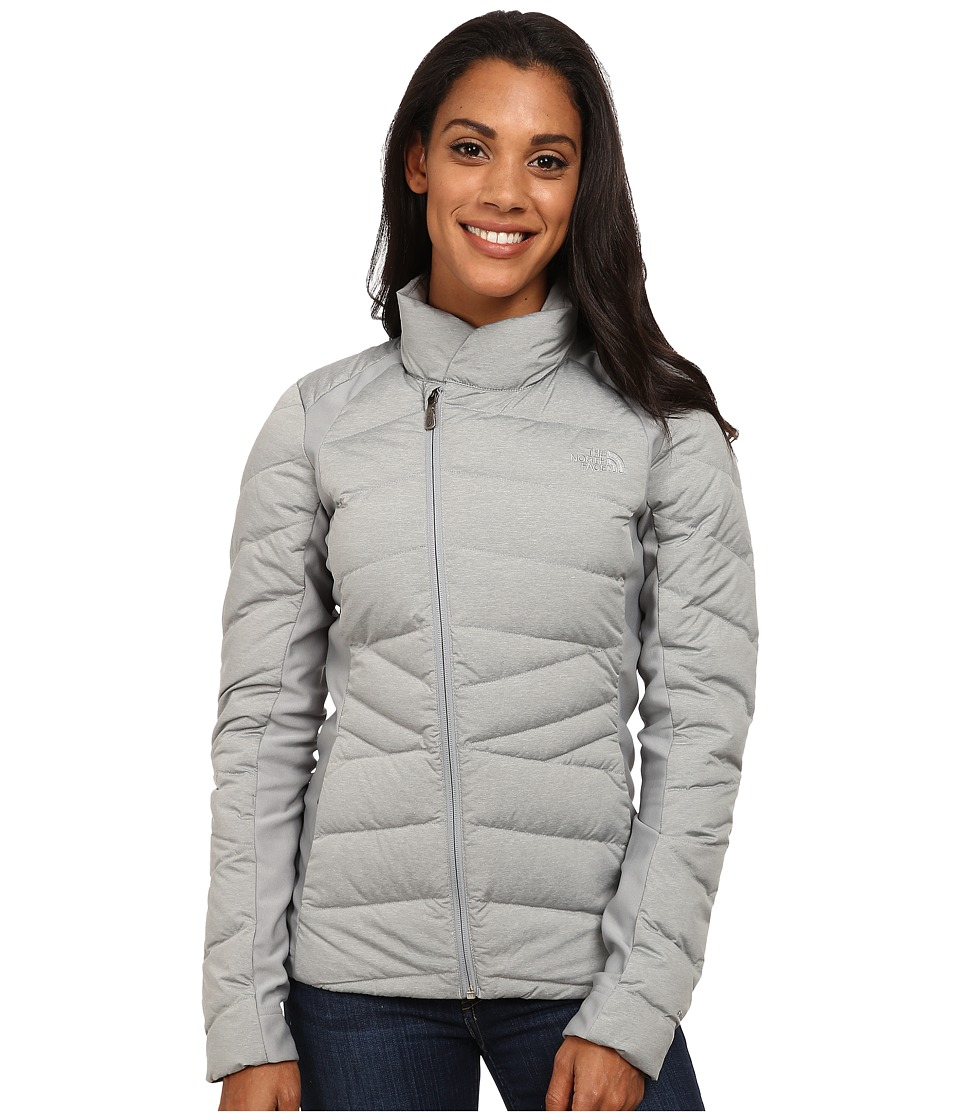 The North Face - Lucia Hybrid Down Jacket (Heather Grey) Women's Coat