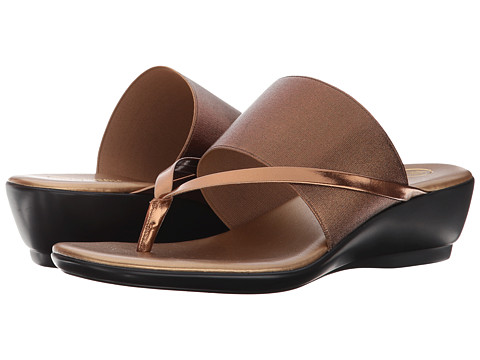 Mootsies Tootsies - River 2 (Bronze) Women's Toe Open Shoes