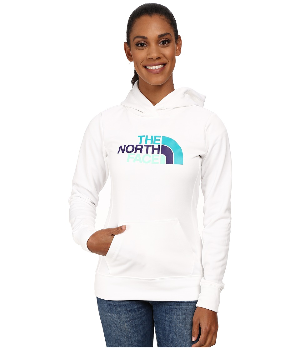 The North Face - Fave Pullover Hoodie (TNF White/TNF White Multi) Women's Sweatshirt