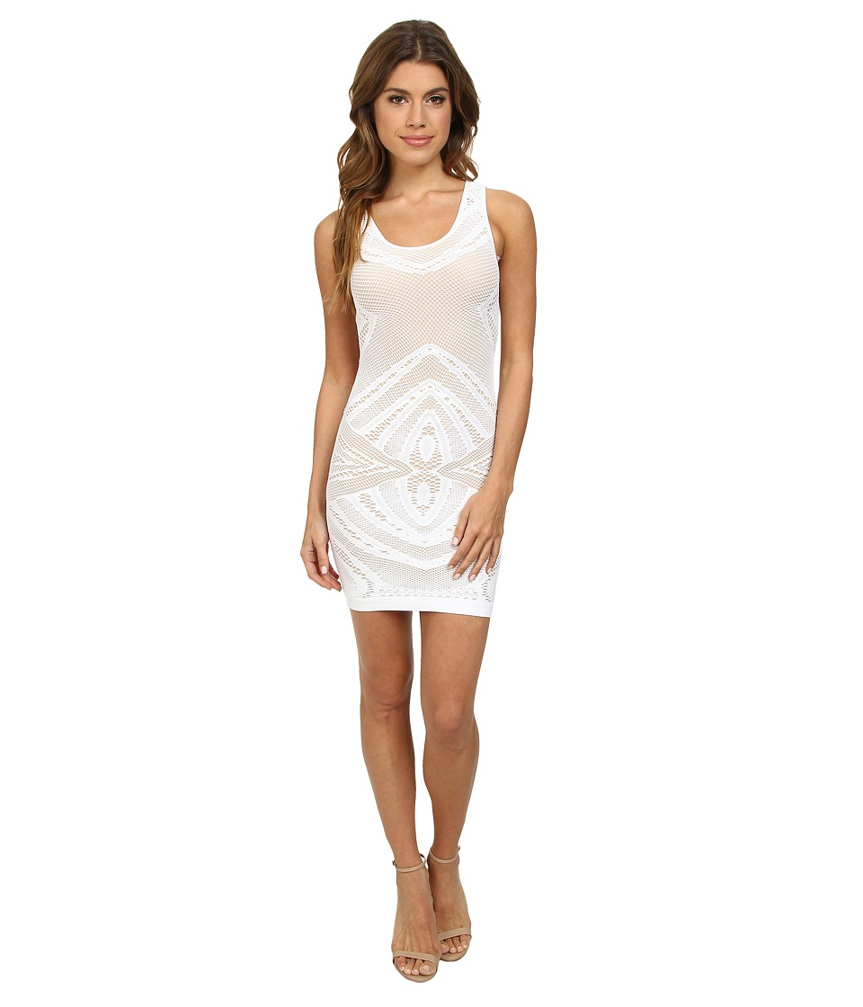 Whitney Eve - Pearl Flower Dress (White) Women's Dress
