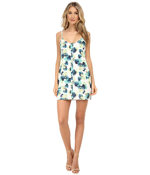 Whitney Eve - Grass Palm Dress (White Palm) Women's Dress