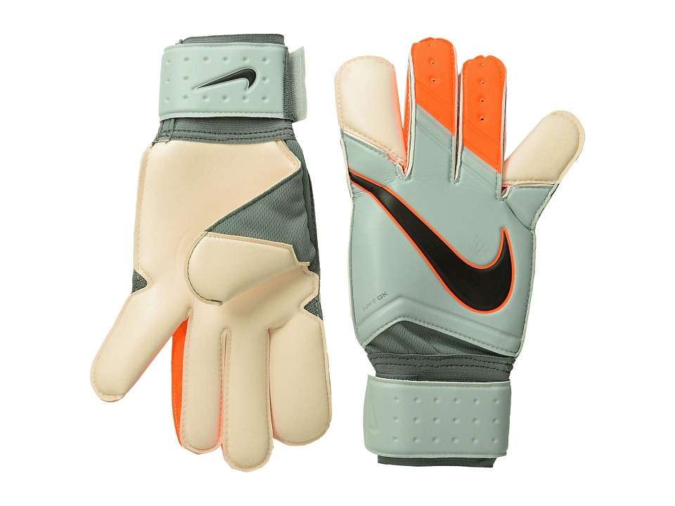 Nike - GK Grip 3 (White/White/Total Orange) Athletic Sports Equipment