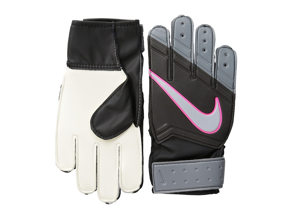 Nike - GK Junior Match (Big Kids) (Black/Cool Grey/Hyper Pink/Black) Athletic Sports Equipment