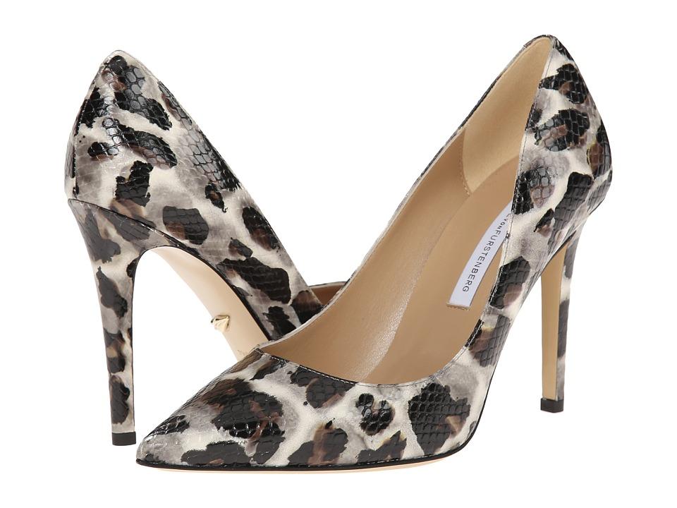 Diane von Furstenberg - Bethany (Snow Cheetah Leopard) High Heels