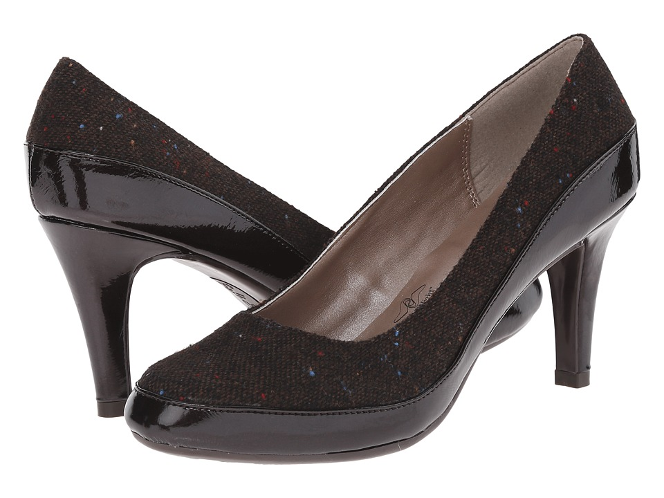 Soft Style - Cristina (Dark Brown Speckled Tweed) High Heels