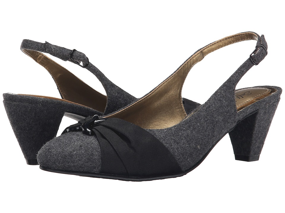 Soft Style - Dezarae (Grey Flannel) High Heels