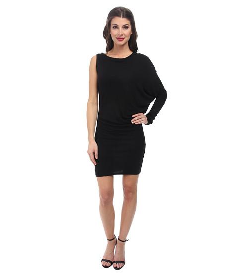 BCBGMAXAZRIA - Laheld Knit Tunic Dress (Black) Women