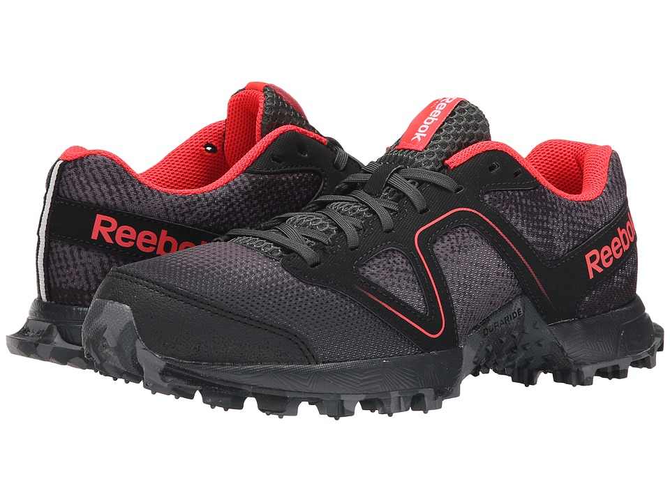Reebok - Dirtkicker Trail II (Shark/Gravel/Black/Matee Silver/Neon Cherry) Women's Shoes