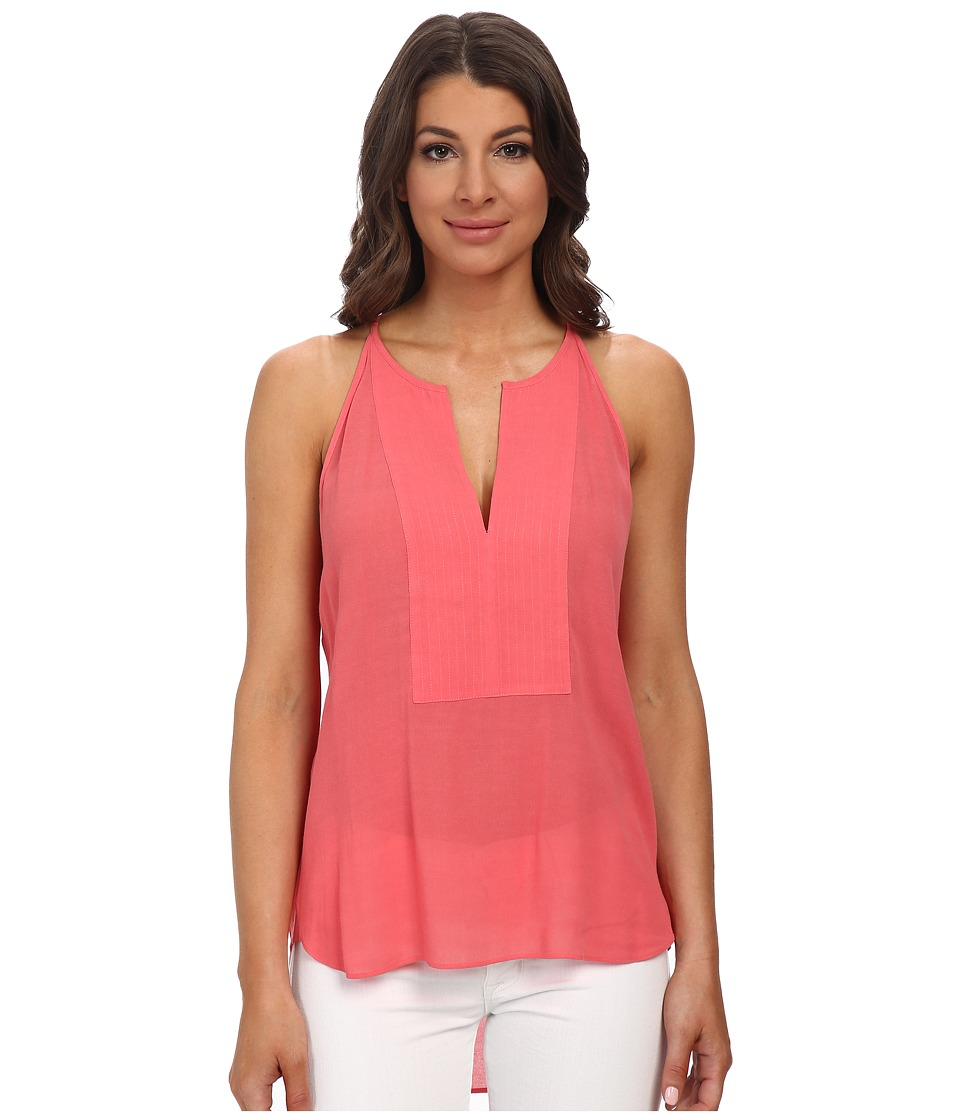 BCBGMAXAZRIA - Mery Tank Top (Coral Reef) Women's Sleeveless