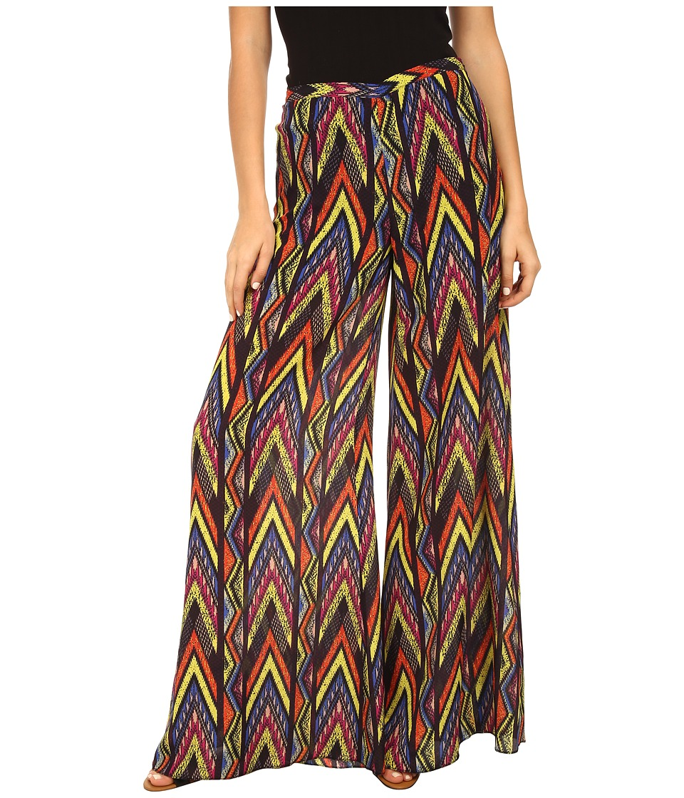 M Missoni - Tribal Zig Zag Pants (Royal) Women