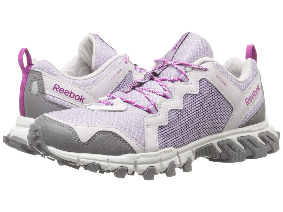 Reebok - Trail Grip 4.0 RS (Lavender Grey/Steel/Shark/Fierce Fuchsia) Women's Shoes