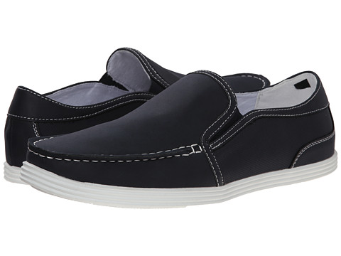 Kenneth Cole Unlisted - Boat Anchor N1 (Navy Synthetic) Men's Slip on Shoes
