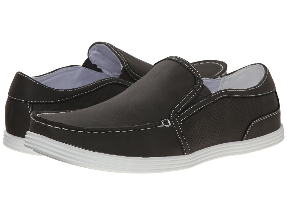 Kenneth Cole Unlisted - Boat Anchor N1 (Grey Synthetic) Men's Slip on Shoes
