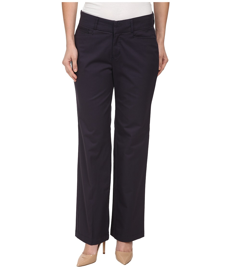 Dockers Petite - Petite Metro Trousers (Navy) Women