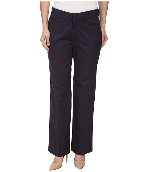 Dockers Petite - Petite Metro Trousers (Navy) Women's Casual Pants