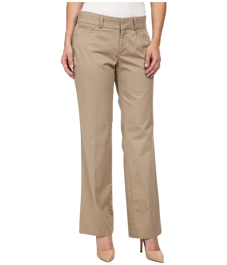 Dockers Petite - Petite Metro Trousers (Beachwood) Women's Casual Pants