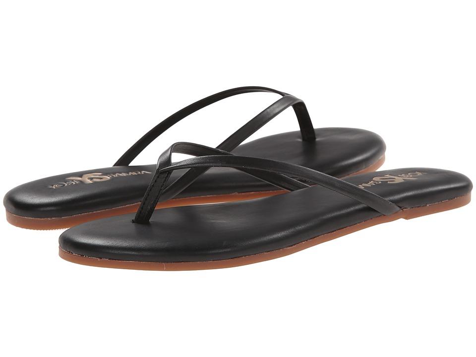 Yosi Samra - Roee Flip Flop (Black) Women's Sandals