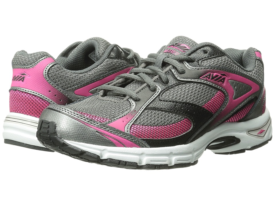 Avia Avi-Execute (Black/Zuma Pink/White/Steel Grey) Women