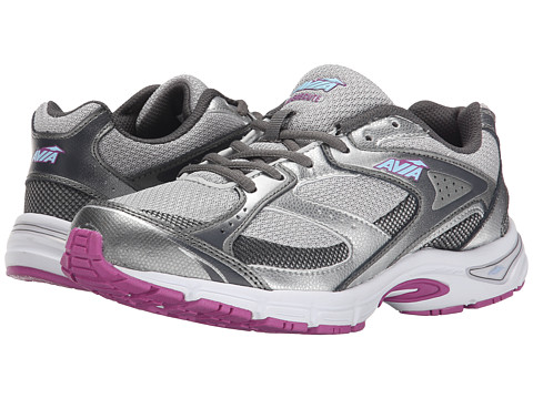 Avia - Execute (Steel Grey/Chrome Silver/Spring Orchid/Skyway Blue/Iron Grey) Women