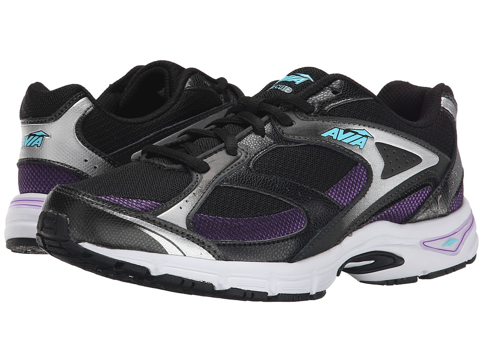 Avia Avi-Execute (Black/Majestic Purple/Winter Blue) Women