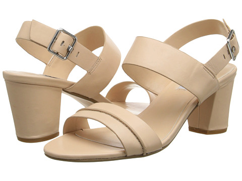 Dune London - Joro (Nude Leather 1) Women's Wedge Shoes