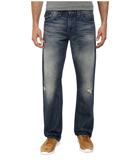 True Religion - Ricky w/ Flap Quick Fade Jeans in Reckless Nomad (Reckless Nomad) Men