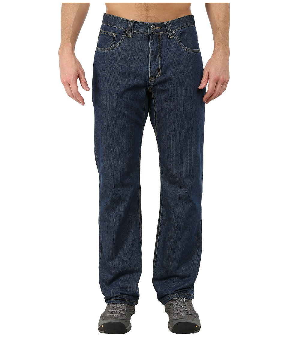 Mountain Khakis - Flannel Original Mountain Jeans (Dark Denim) Men's Jeans
