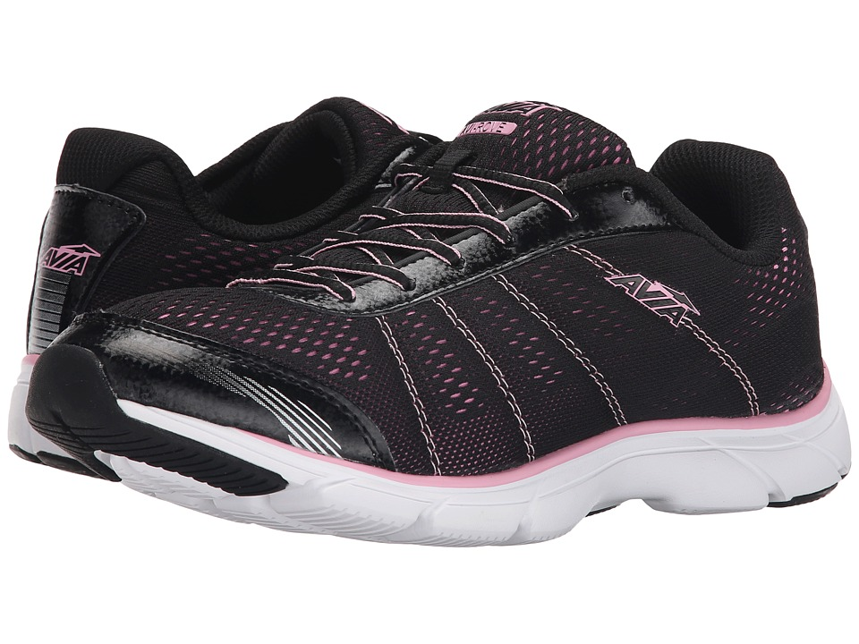 Avia - Avi-Rove (Black/Prism Pink) Women's Shoes
